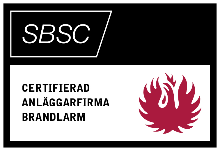 SBSC Certifierad brand
