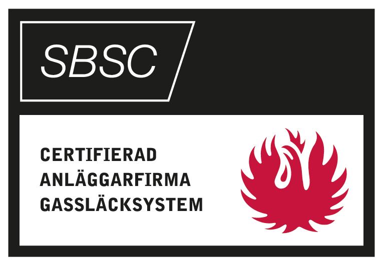 SBSC Certifierad Släck